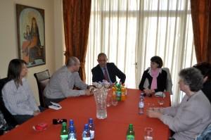 При българския посланик в Тирана