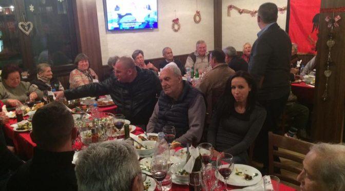 Албанска вечер в Мандрица